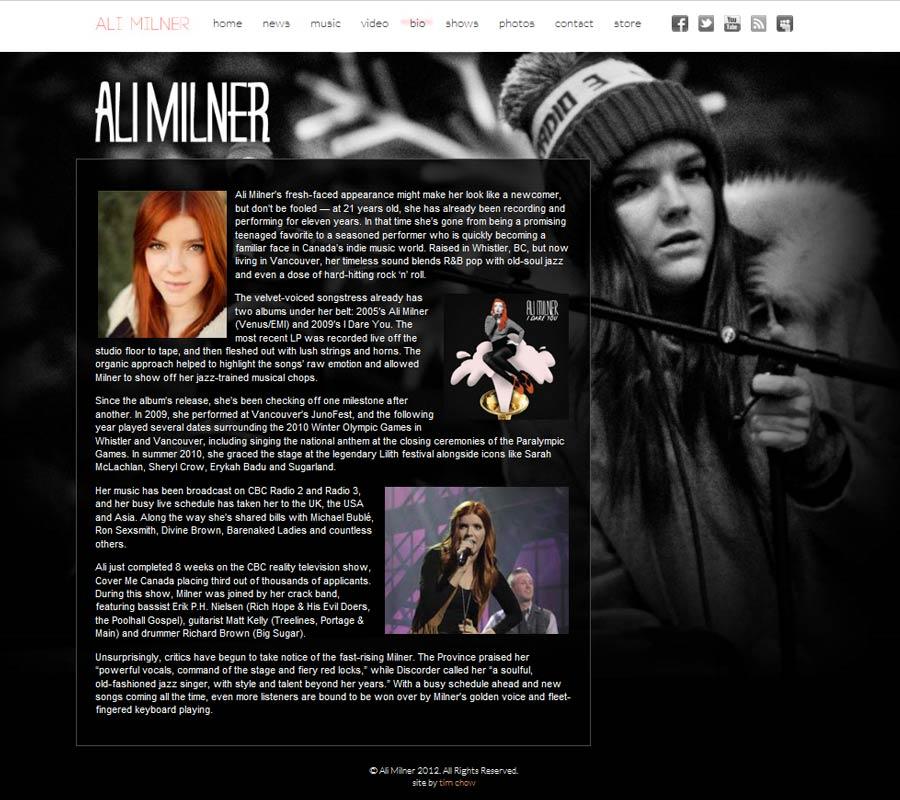 Ali Milner site 2